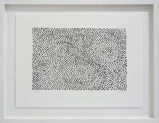 Günther UECKER - Print-Multiple - Kleine Permutation s/w