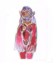 理查德·普林斯 - 版画 - Hippie Drawing