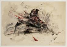 Yasuo SUMI - Painting - Early Gutai Work Sketch 10