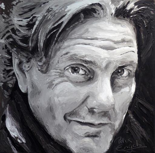 Peter ENGELS - Pintura - Peter Engels - self portrait