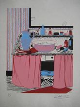 Félix LABISSE - Grabado - LITHOGRAPHIE 1971 SIGNÉE CRAYON NUM/20 HANDSIGNED LITHOGRAPH