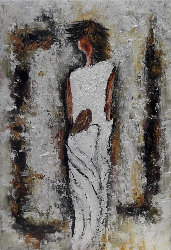 Christiane GUERRY - Painting - Protection