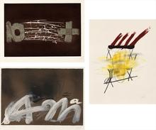 Antoni TAPIES (1923-2012) - Three prints by Tapies