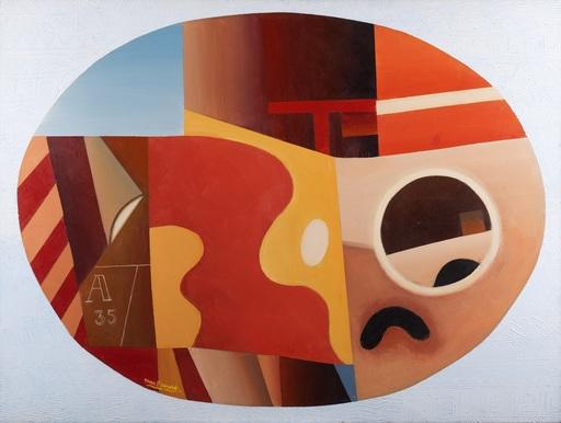 Max PAPART - Peinture - Composition, 1980