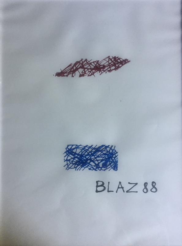 BLAZ 88 - Pintura - CORONA : A L'HEURE DE L'OBSERVATOIRE I