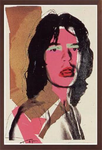 Andy WARHOL - Druckgrafik-Multiple - MICK JAGGER 143 (F. & S. II.143)