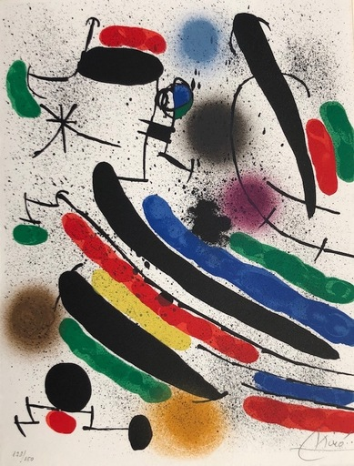 Joan MIRO - Druckgrafik-Multiple - Joan Miró Litografo I