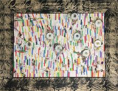 Pascale Marthine TAYOU - Pintura - Fresque de Craies C (2)