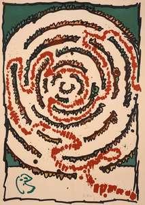 Pierre ALECHINSKY - Print-Multiple - LABYRINTHE D APPARAT I
