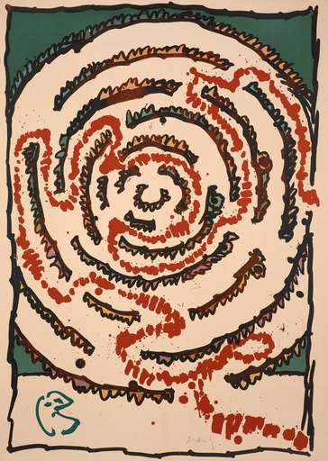 Pierre ALECHINSKY - Print-Multiple - LABYRINTHE D APPARAT I