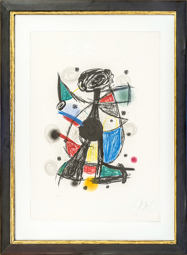 Joan MIRO - Print-Multiple - Arlequin Arificier
