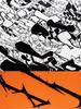 DITNO83 - Gemälde - Accumulation Orange (013)
