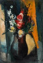 Maurice DE VLAMINCK - Pintura - Fleurs dans un Vase