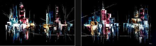 Arnaud DUHAMEL - Pintura - Dyptique 1