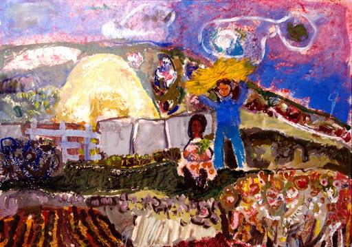 María Antonia DANS - Painting - día de campo