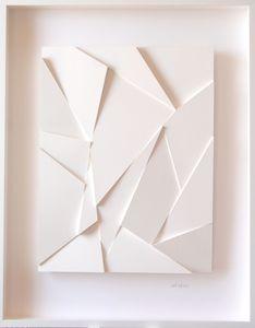 René GALASSI - Sculpture-Volume - Origami franctal