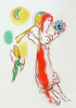 Marc CHAGALL (1887-1985) - Daphnis and Chloe (Second Version)