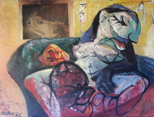 Misko PAVLOVIC - Pintura - Le Souvenir de la Grand Mère