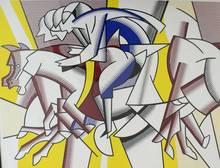 Roy LICHTENSTEIN (1923-1997) - The Red Horseman