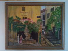Menahem KRIEF - Pintura - SAINT PAUL DE VENCE