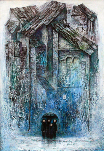 Amur KOCHISHVILI - Painting - Rain