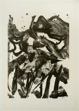 Willem DE KOONING - Estampe-Multiple - The Marshes