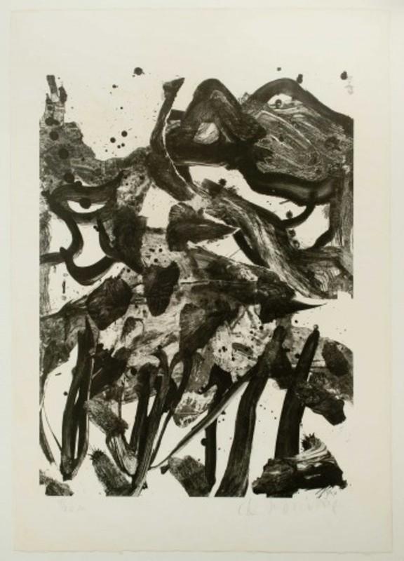 Willem DE KOONING - Grabado - The Marshes