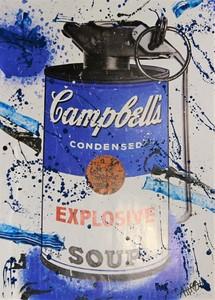 AÏROH - Print-Multiple - Explosive Bleu