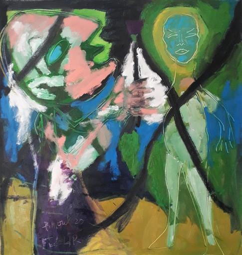 Bernard MOREL - Pintura - FLEUR