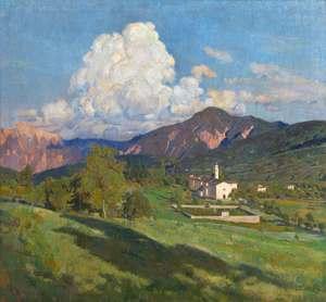 Umberto COROMALDI - Painting - La valle