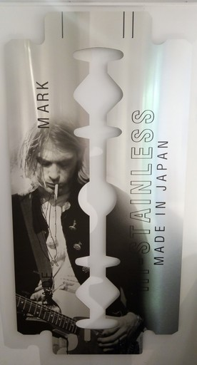 Yves HAYAT - 雕塑 - Lame de Fond - Kurt Cobain