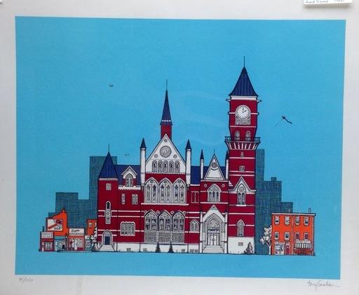 Tony GRAHAM - Estampe-Multiple - New York Public Library