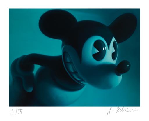 戈特弗里德·郝文 - 版画 - Blue Mouse 3