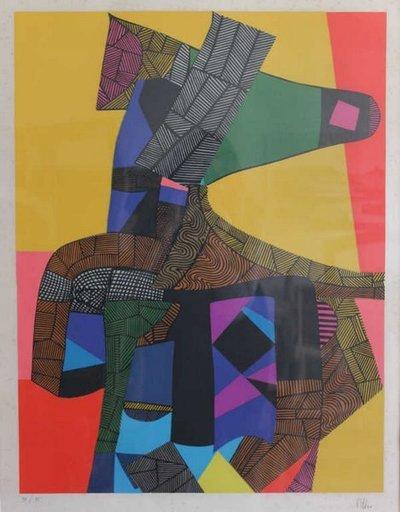 Maurice ESTEVE - Print-Multiple - Anubis