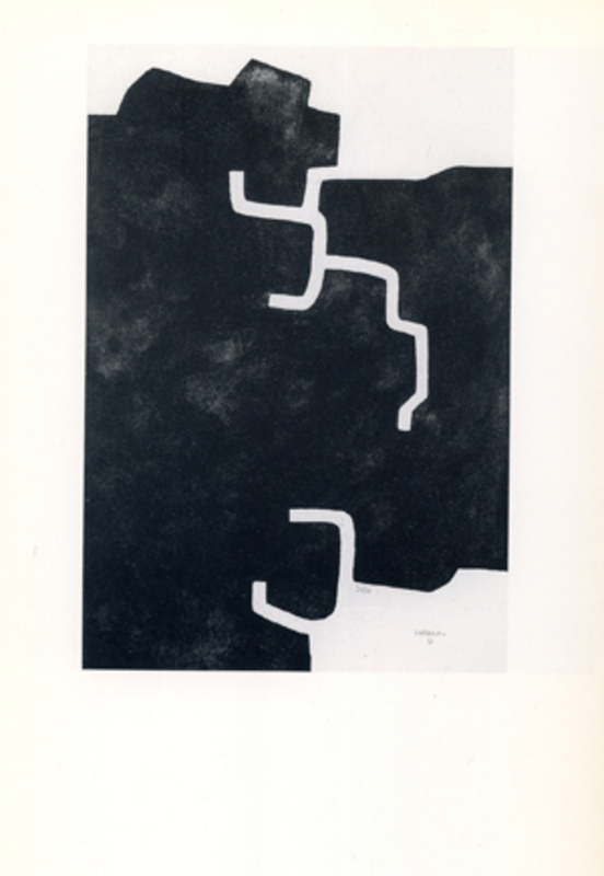 Eduardo CHILLIDA - Estampe-Multiple - Hildokatu