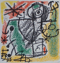 Joan MIRO - Stampa Multiplo - The Essences of the Earth