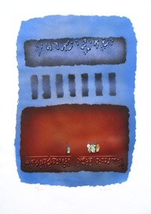 Jean-Claude FARHI - Print-Multiple - Shmah Israel