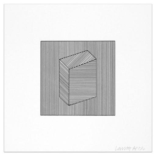 Sol LEWITT - Druckgrafik-Multiple - Plate #22