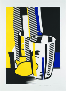 Roy LICHTENSTEIN - Stampa-Multiplo - Before the mirror