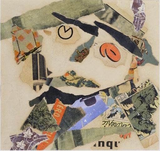 Gaston CHAISSAC - Dibujo Acuarela - Composition à une tête
