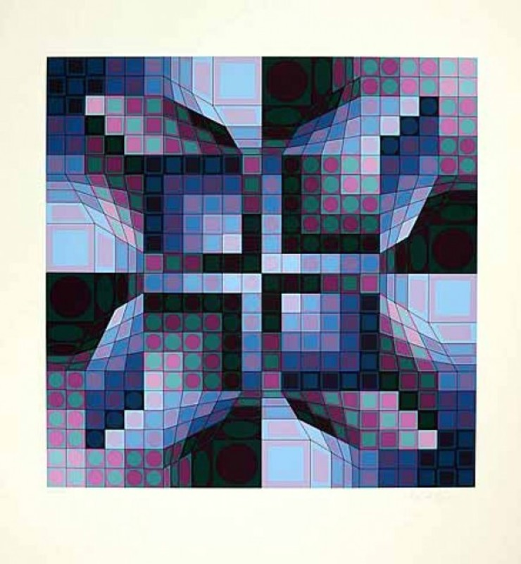 Victor VASARELY - Estampe-Multiple - Firka