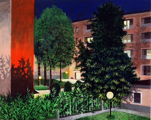 Nicola Felice TORCOLI - Gemälde - Notturno