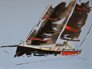 Diana KIROVA - Painting - In gara II