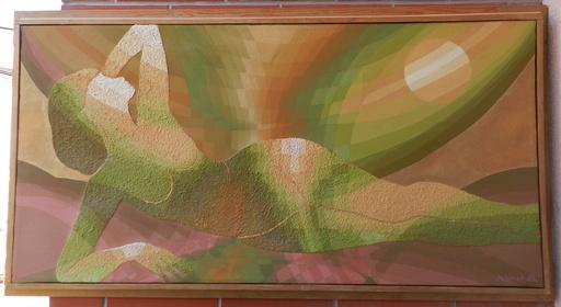 Bohdan JELÍNEK - Painting - Lying
