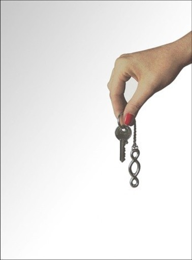 Michelangelo PISTOLETTO - Stampa-Multiplo - chiavi in mano - terzo paradiso