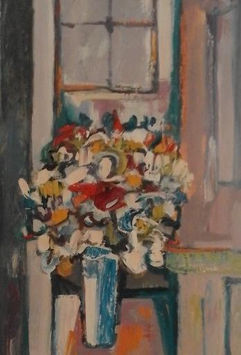 Jean KRILLÉ - Pintura - Blumenstilleben