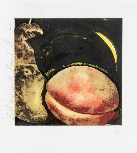 Donald SULTAN - Druckgrafik-Multiple - Still Life with Peach