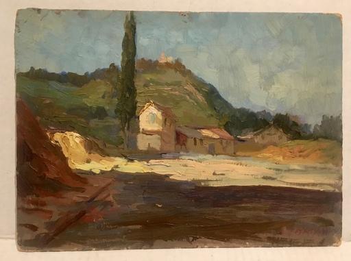 Ashod ZORIAN - Pintura - Hillside home