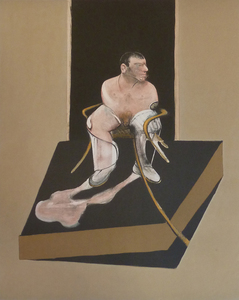 Francis BACON, Study for a Portrait of John Edwards from the Triptych 1986-