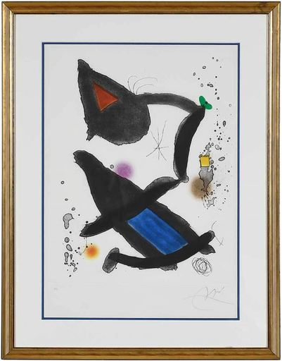 Joan MIRO - Stampa Multiplo - Le Roi David